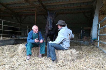 Thierry Laffitte et son grand-père