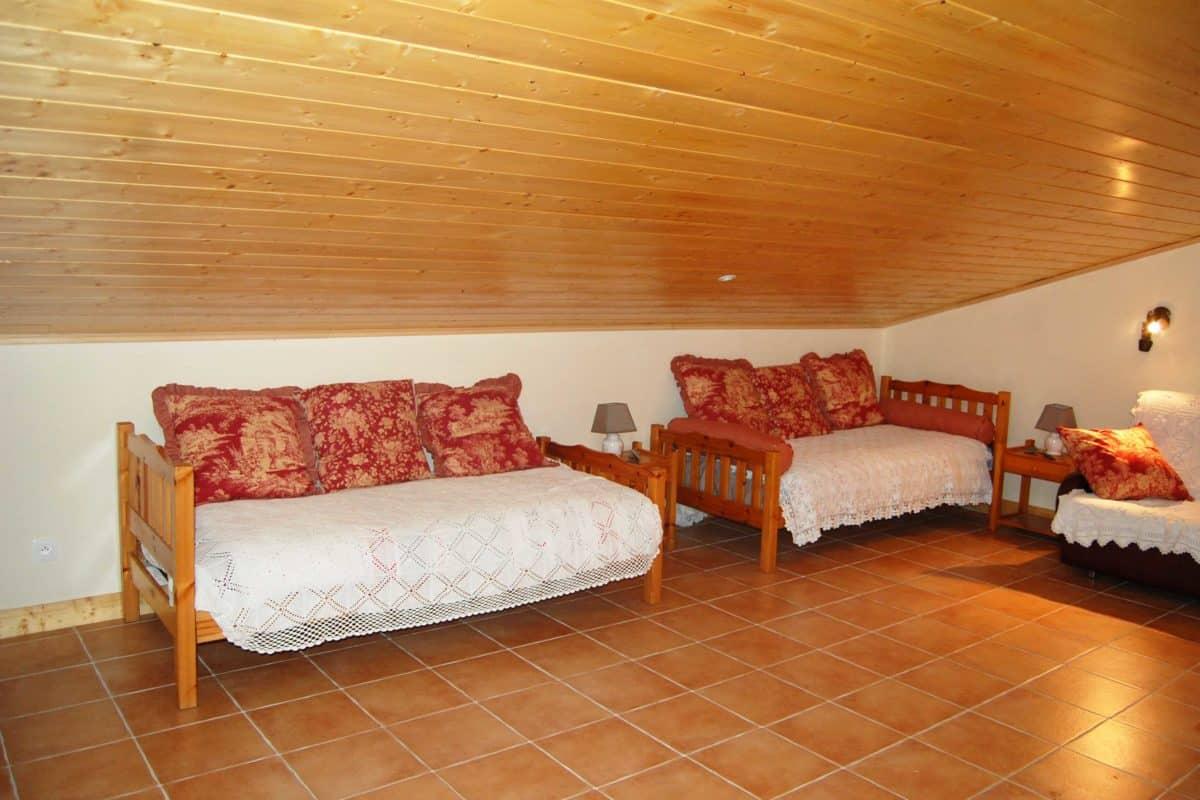 Les deux lits simples