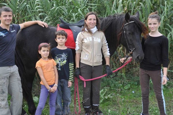 Agian, le cheval de toute la famille