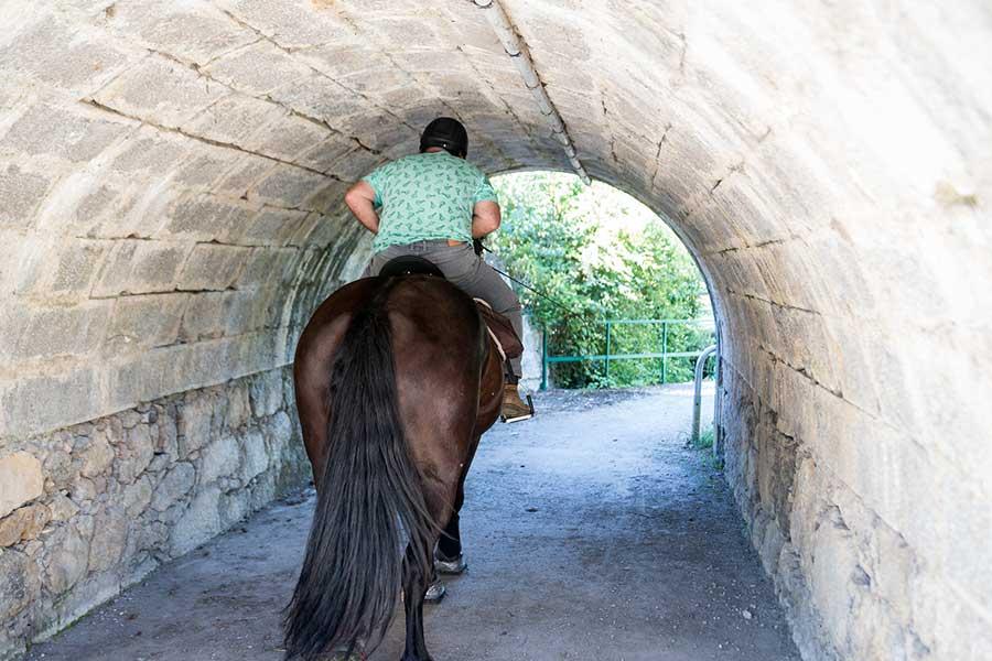 Passage dans un tunnel