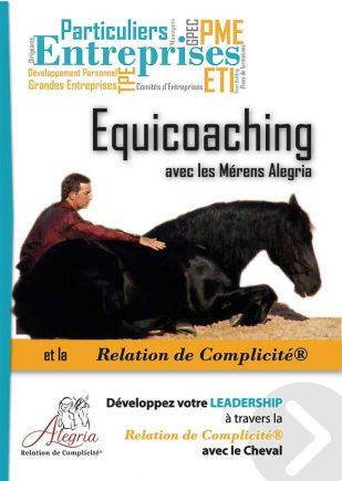 Plaquette Equicoaching Alegria Relation de Compliciité®